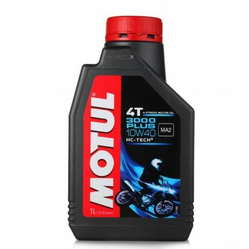น้ำมันเครื่อง MOTUL 3000 PLUS 4T 10W40